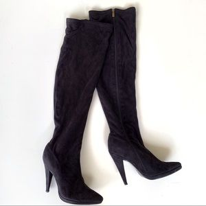 Colin Stuart Black Over The Knee Boots Size 9
